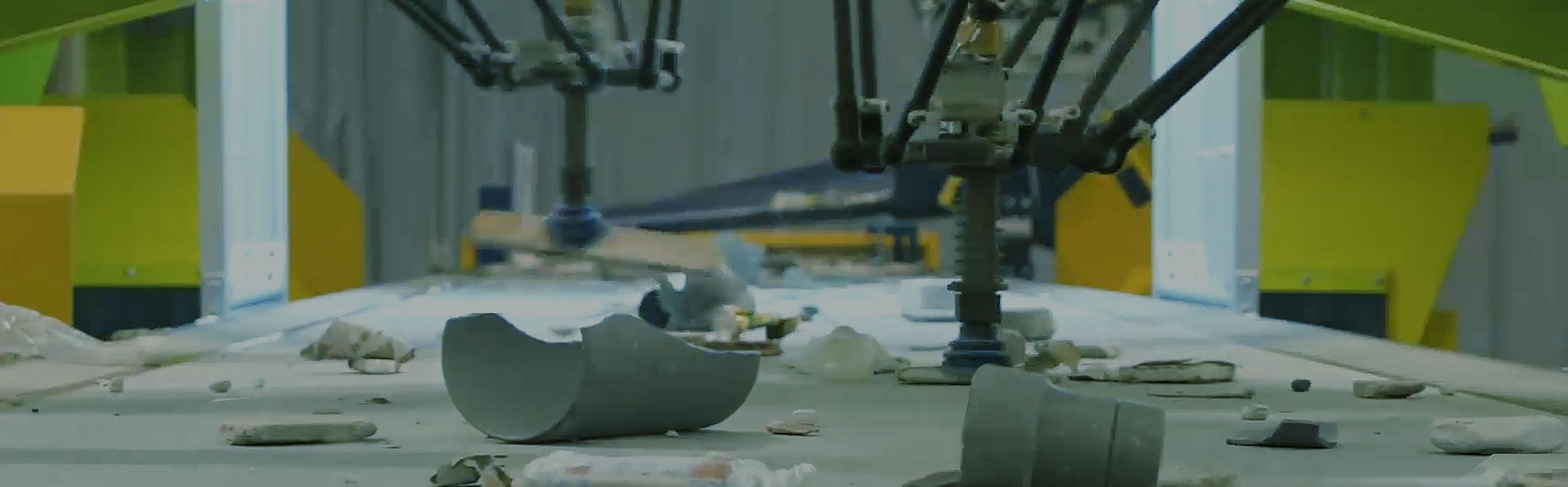 破砕機メーカーのリョーシン