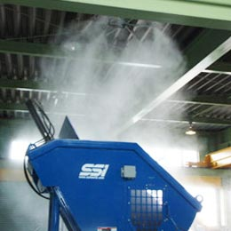 Energy efficient Misting System